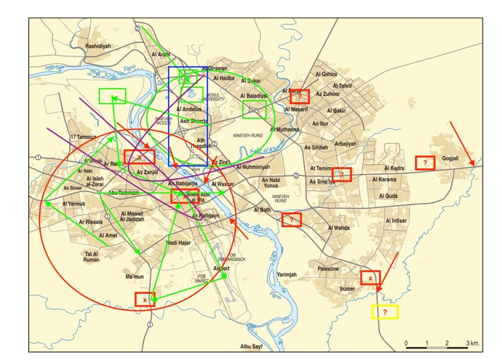 Mosul, Iraq Military Maneuvers JPEG